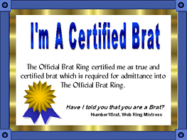 The Official Brat Ring !!